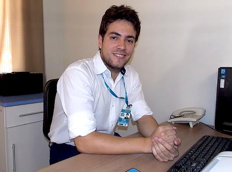 Éder Ferreira Lima Engenheiro Clínico do HSF